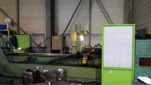 CNC LATHE Φ800 X H3000